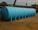 Накопительная бочка 100 м3 для питьевой воды